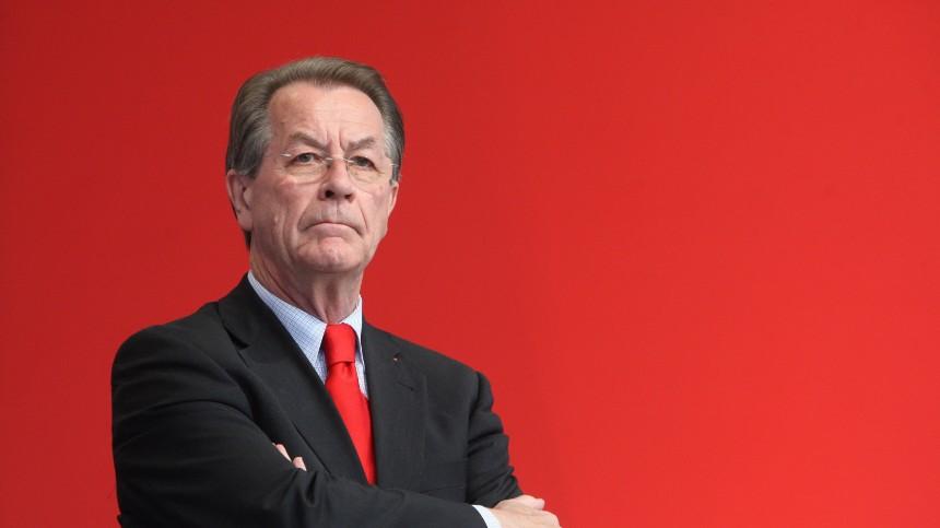 SPD-Vorsitzender Müntefering in Augsburg