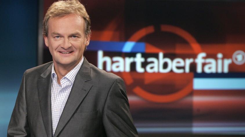 'Hart aber fair' - Frank Plasberg