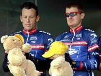 Lance Armstrong und Floyd Landis