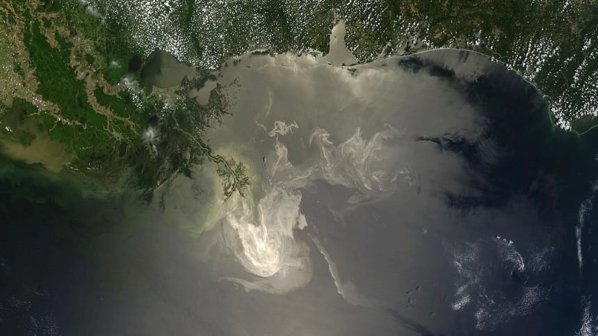 Umweltzerstörung Umweltkatastrophe im Golf von Mexiko