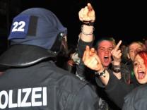 GdP-Chef fuer neuen Paragrafen bei Gewalt gegen Polizisten
