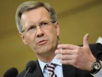 Regierungserklaerung MP Wulff