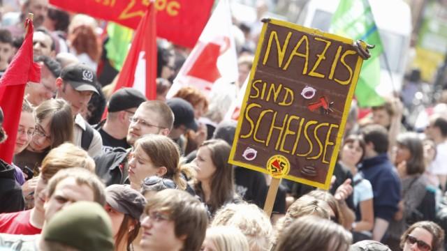 Demonstrationen gegen Rechtsextremismus