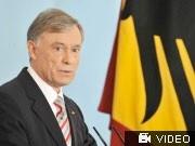 Bundespräsident Köhler erklärt Rücktritt