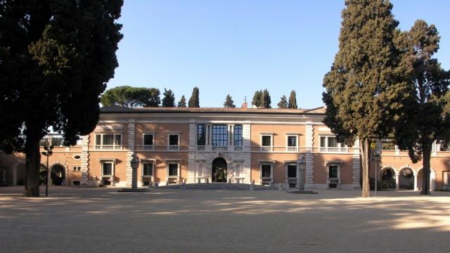Kunst Villa Massimo in Rom