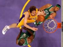 NBA FINALS GAME 4:  BOSTON CELTICS V LOS ANGELES LAKERS