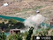 Raketeneinschlag nahe 'Friedens-Dschirga'