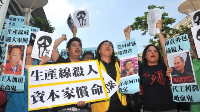 Foxconn Billiglöhne in China