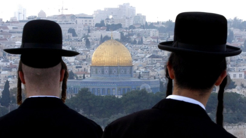 Orthodoxe Juden in Jerusalem
