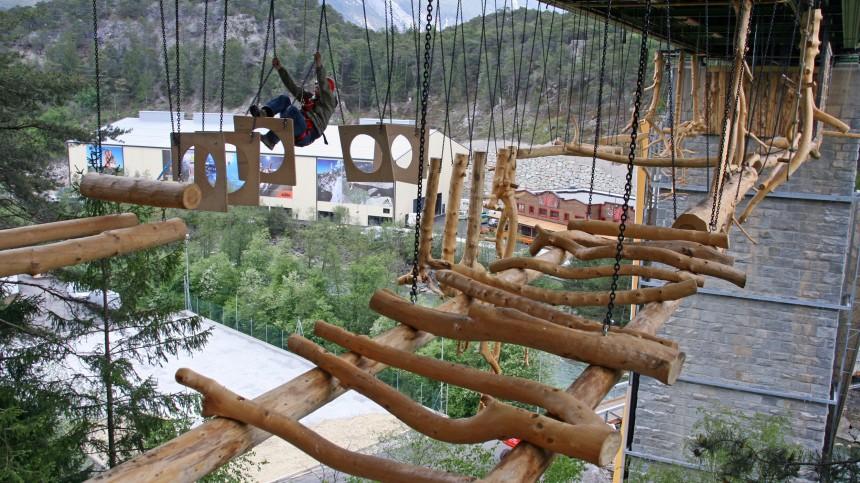 Rekordjagd im Ötztal - Der neue Outdoorpark Area 47
