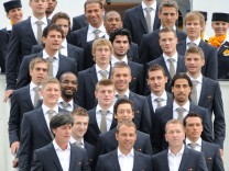 WM 2010 - Fußball-Nationalmannschaft startet nach Südafrika