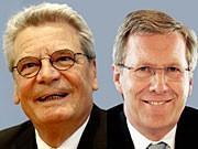 Gauck, Wulff