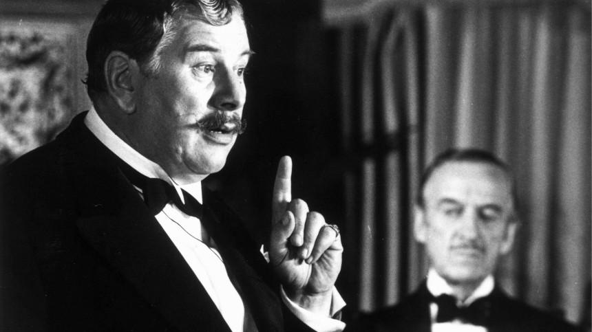 Peter Ustinov und David Niven in 'Tod auf dem Nil', Großbritannien 1978