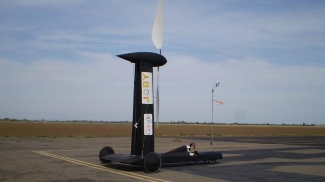Windkraft-Auto