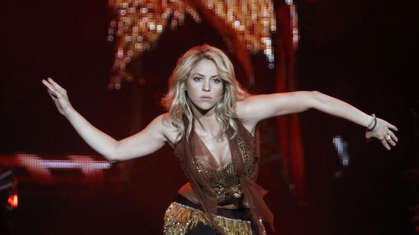 Singer Shakira performs during the 'Rock in Rio' music festival in Arganda del Rey near Madrid