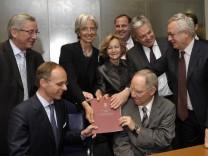 Treffen der Finanzminister des Eurogebiets