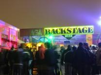 Backstage in München, 2010