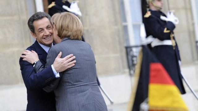 12. deutsch-französischer Ministerrat - Merkel und Sarkozy