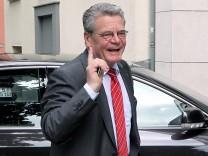 SPD-Präsidium - Gauck