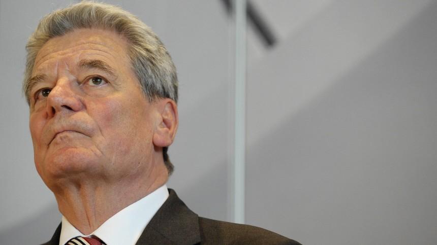 Statement Jochim Gauck