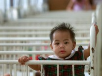 THAI BABY GIRL NATRIKA AWAITS ADOPTION IN BANGKOK