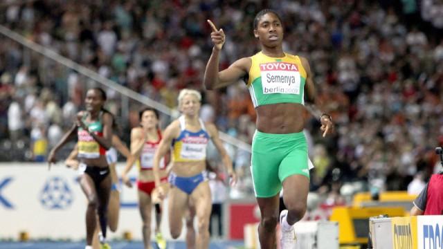 Leichtathletik-WM - Caster Semanya