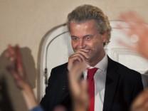 Nach Parlamentswahlen in den Niederlanden - Geert Wilders