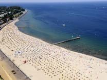Ostseestrand Travemünde Wasserqualität der Badegewässer in Deutschland