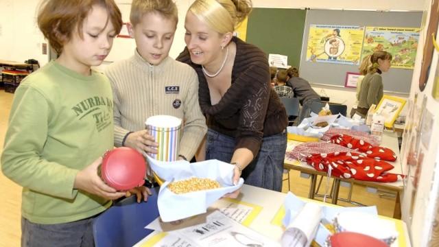 Voll in Form in der Schule Mammendorf