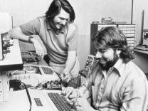 Apple-Mitbegründer Wozniak und Jobs
