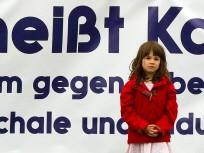 Proteste gegen Sozialabbau in Berlin
