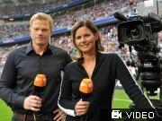 TV-Ereignis WM (2): ZDF  Tröten und unsägliche Vergleiche; Videoflag