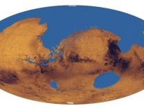 Ozean auf dem Mars