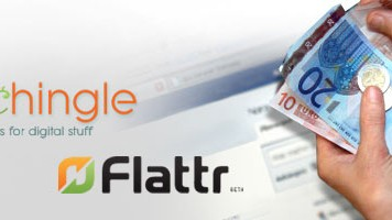 Social Payments, Flattr und Kachingle