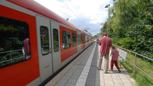 S-Bahnhof Fasangarten in München, 2209