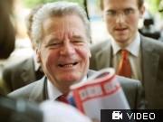 Gauck auf Kandidaten-Tour