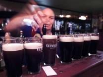 Pub in Dublin mit Bier