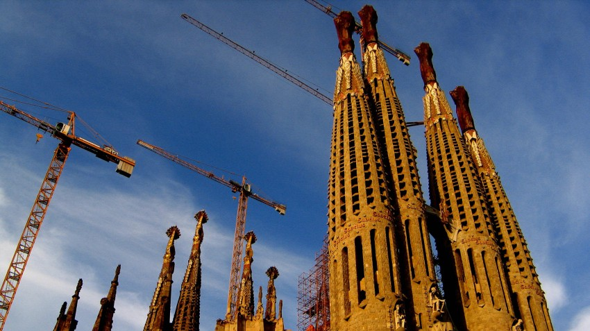 Sagrada Familia Barcelona Antoni Gaudí