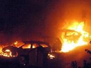 Explosion in Italien - mindestens zehn Tote, Zugunglück nahe Viareggio, AFP