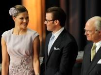 Hochzeit Prinzessin Victoria - Empfang im Rathaus von Stockholm