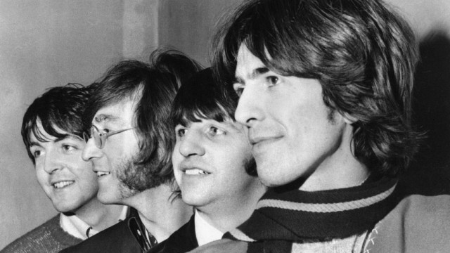 Paul McCartney, John Lennon, Ringo Starr,George Harrison