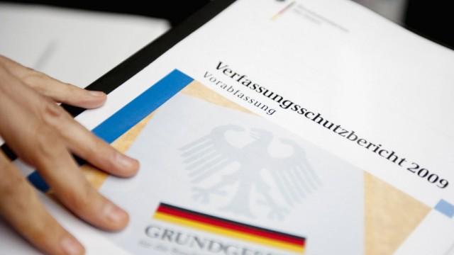 Vorstellung des Verfassungsschutzberichtes