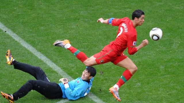 Wm 2010 Portugal Auch Ronaldo Trifft Beim Scheibenschießen