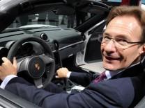 Porsche-Chef Macht vor Wechsel zu VW?