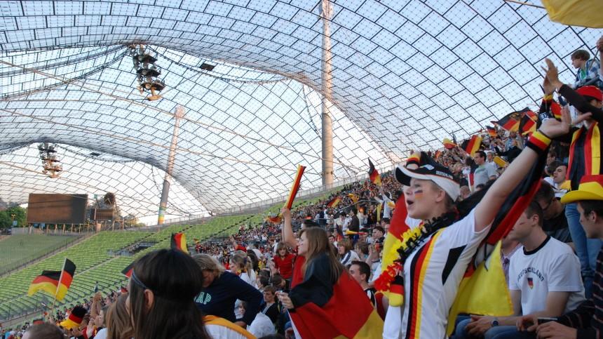 Public Viewing im Olympiapark (München)