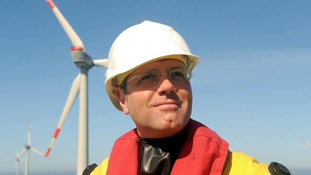 Offshore-Windpark Alpha Ventus - Einweihung