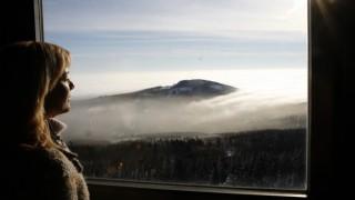 Sonnenschein über der Nebeldecke