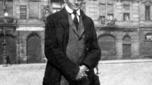 Franz Kafka, um 1920