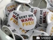 Bundespräsidentenwahl —Die Linke stänkert gegen Gauck; Videoflag