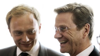 FDP-Präsidiumssitzung in Köln - Westerwelle und Lindner